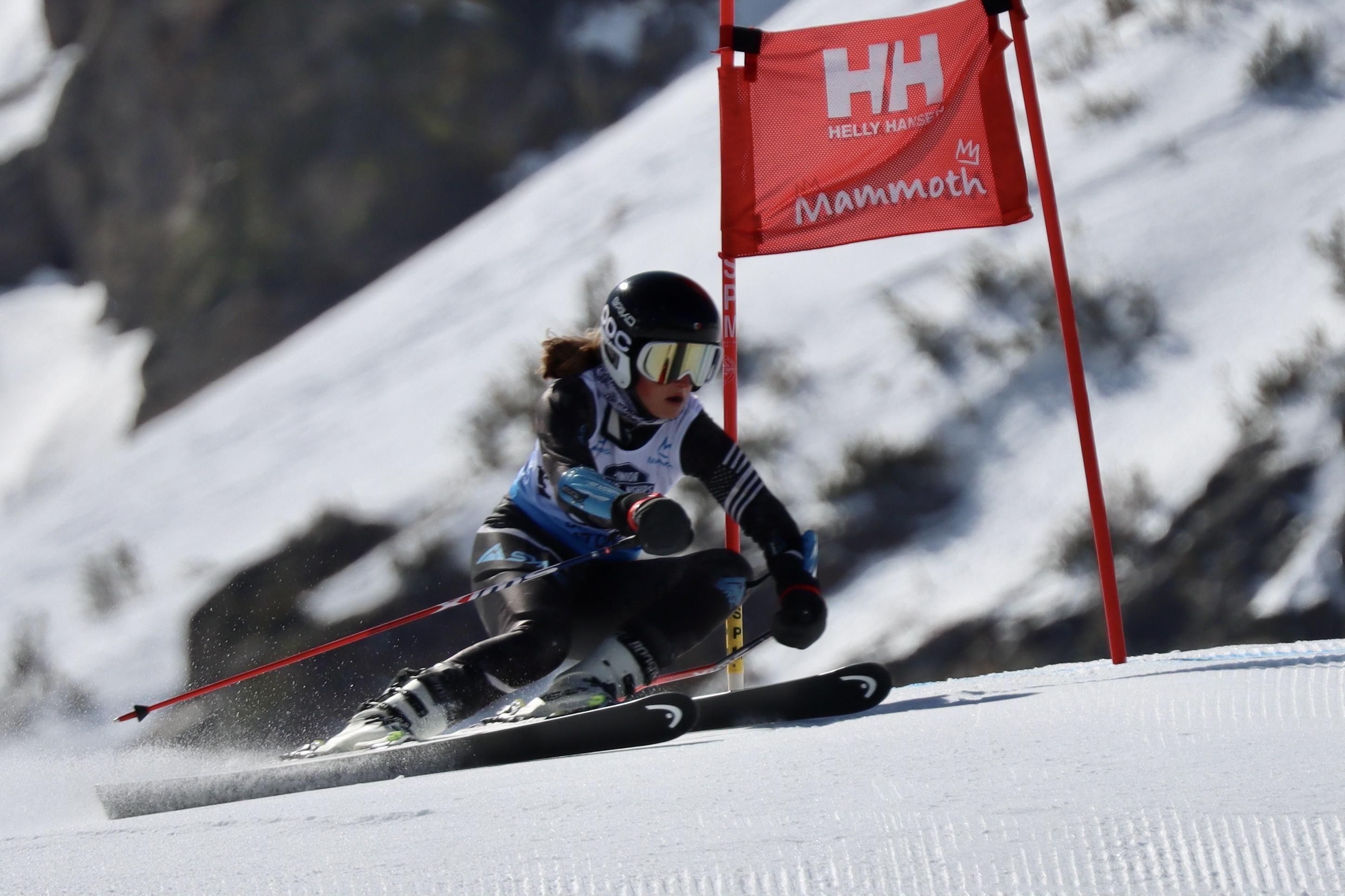 Brenna Ritchie - u16 Regional Champs GS at Mammoth